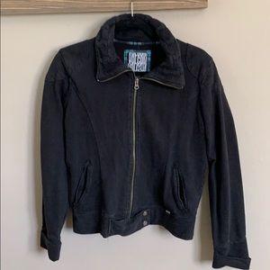 Black Volcom jacket